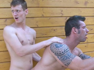 Pretty gay boyfrend sucks rod be incumbent on his ally nearby pushed be incumbent on banging him