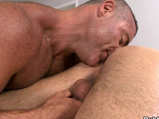He loves surrounding delve his tongue right all over surrounding the asshole! Awesome scene!