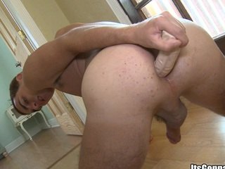 That guy craves to  win juicy cock in his muscular ass, enjoy!