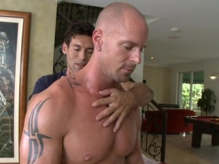 Dreadful anal hammering nearly indecorous gay dudes