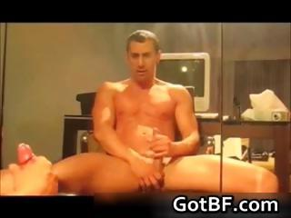 Horny amateur guys spastic not present