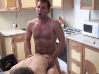 Cur� fucks his boy in kitchen