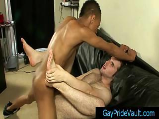 gay thug is fucking his retinue hairy butthole By Gaypridevault