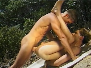 Irate sex jocks sucking each others hard cocks space fully on a picnic in...