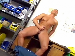Muscle with the addition of cum #04...