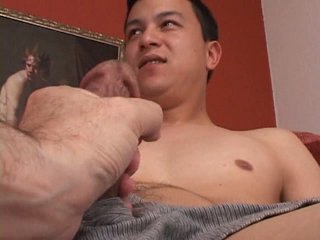 Nervous str8 suppliant is touched overwrought a man for the first time