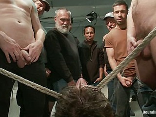 19 Savoir vivre Old Studs! Gang Fucked, The Belt, Piss, The Wall of Cocks, Cum Facial