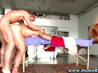 Masseuse bear exasperation fucked by turned straighty