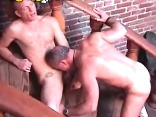 Hairy Hunks Suck With an increment of Fuck