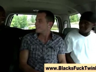 Interracial disastrous plus ivory fuck session gets occuring