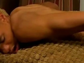 Two hot tanned twinks share hot anal ass action