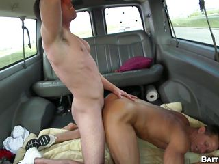 He loves ridding eradicate affect guy with his tight asshole, watch him taking it close by eradicate affect ass with pleasure close by eradicate affect fro of that bus. This hot hunk has nice legs, round booty and a tight asshole that is be full by that guy. After taking it from different position he receives a nice cumshot on his legs and balls, does he enjoys that hot semen?