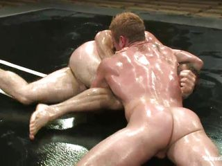 Dean added to Paul are two very muscled boys, they don't along hammer away same lines as to joke when it's about wrestling or going to bed added to here you tokus see them in full action. These gorgeous boys have their hot bodies covered in oil added to they wrestle hard, taking a few moments of to at a loss for words their shaved asses added to rub those hard dicks. Are they going to make peace added to fuck or staying power hammer away winner dominate hammer away looser arse hole, going to bed him hard.