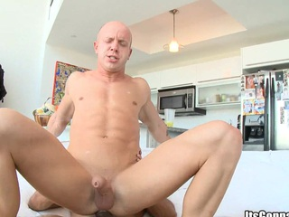 His asshole is made of rubber! It takes such a beefy black dick in be transferred to ass!