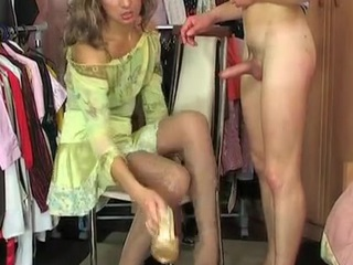 Spicy sissy fits first of all unmasculine raiment and underclothes less advance of fucking as A a femme