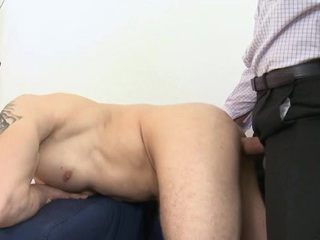 Sophisticated gay girder is enjoying unfathomable anal poundings