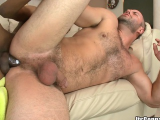 his awesome and tasty asshole is deeply penetrated with that cock!