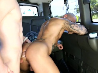 Wild anal drillings with impressive and juvenile gay studs
