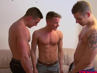 British gay jock threeway the dough ending