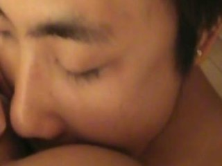 Hot Asian Rimming, 69ing and making out